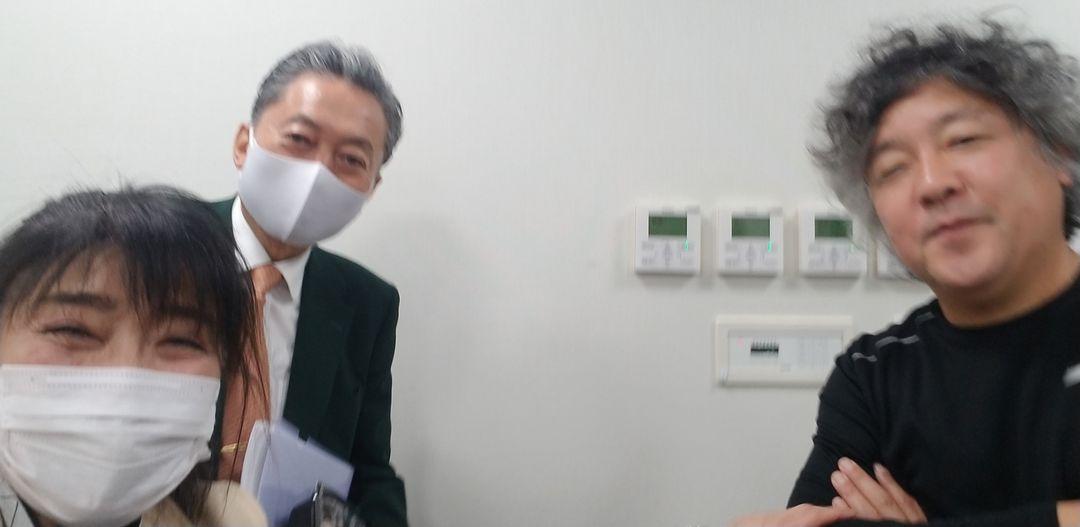 鳩山由紀夫さんと