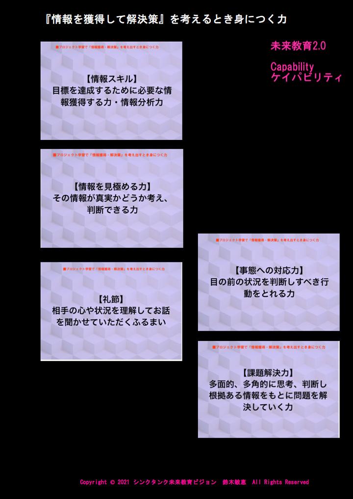 ケイパビリティ・パネル(5)